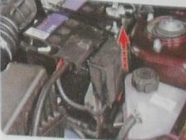 Блок силовых предохранителей в Лада Гранта в двигательном отсеке