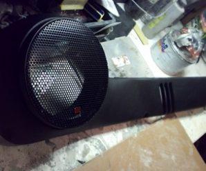 Изготовление акустических подиумов для ВАЗ 2110 своими руками