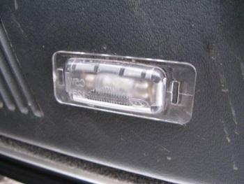 Лампа вставленная в готовое отверстие