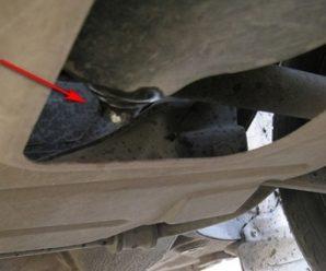 Замена масляного фильтра и масла в двигателе Лада Калина
