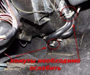 Детальное руководство по замене крана отопителя (печки) в автомобилях ВАЗ 2114
