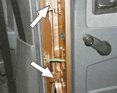Регулировка задней двери