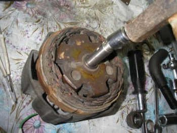 Сборка и замена деталей генератора