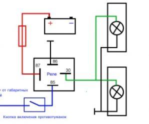 Установка противотуманных фар (ПТФ) на ВАЗ 2107