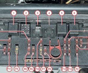 Электрика под контролем: изучая схему предохранителей ВАЗ 2107