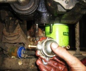 Диагностика и замена топливного насоса ВАЗ 2107 своими руками