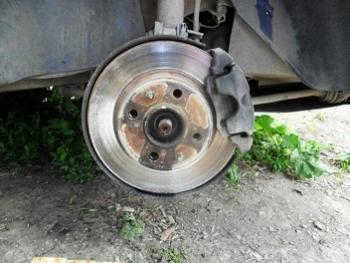 Старые диски без колодок