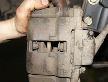 Тормозная колодка ВАЗ 2115