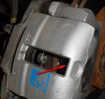 Тормозной поршень на автомобиле 2