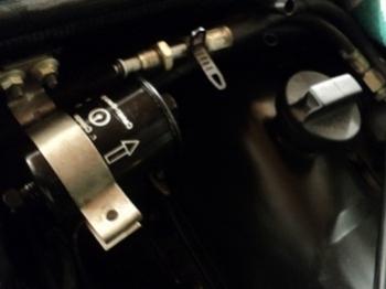 Установка нового топливного фильтра