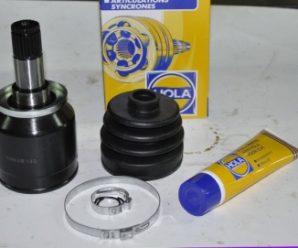 Замена шарнира равных угловых скоростей (гранаты) на ВАЗ 2112