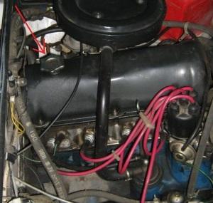 Замене масла в двигателе