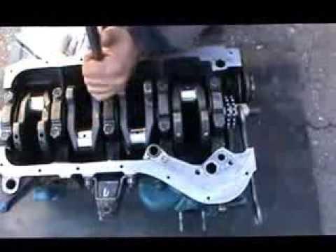 Сборка двигателя ваз 2103
