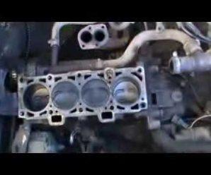 Снятие двигателя ваз 2109 через верх