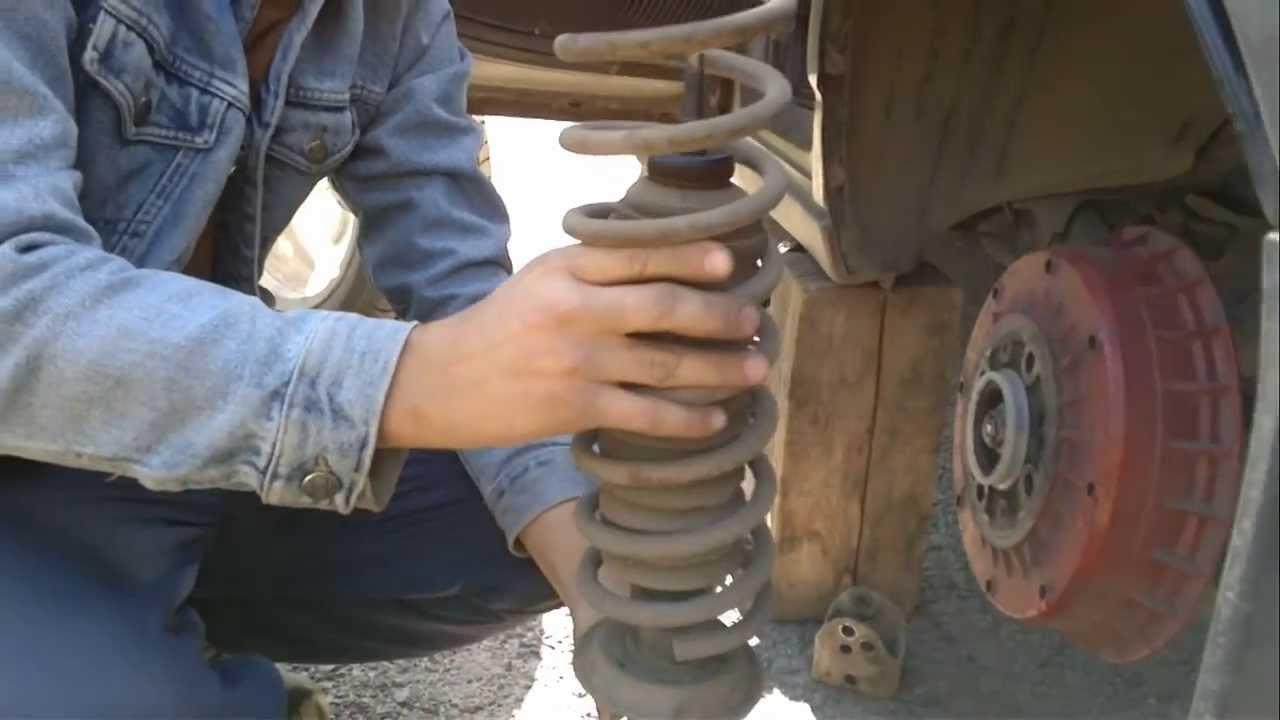 Замена задних пружин ваз 2110